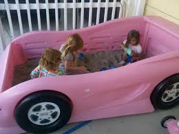 100 Little Tikes Fire Truck Toddler Bed Repurposed A Twin Bed Into A Racecar Sandbox For The