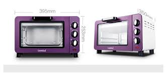 Hot Sale Electric Mini Bakery Oven With Timer For Making Bread Cake Pizza 15L Small Household Multi Function Baking