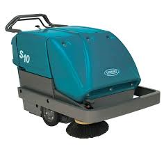 sweepers tennant floor cleaning machines