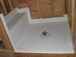 bath shower the best white fiberglass shower pan with tile wall