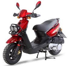2015 TaoTao BWS 150 Burgundy Scooter 150CC