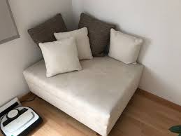 sofa mit beistellhocker