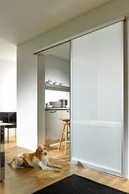 installeren zonder beschadiging glazen vloer schiebetür