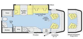 Itasca Class C Rv Floor Plans by Winnebago View 24m Motorhome Magazine