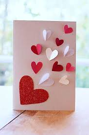 carte a faire soi meme diy carte valentin 5 modèles à faire soi même côté maison