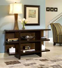 Narrow Sofa Table With Storage by Apartments Picturesque Home Styles Geo Walnut Console Sofa Table
