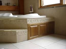 Tiling A Bathtub Skirt by Tub Deck And Surrounding Walls Kerdi Or Cbu Ceramic Tile