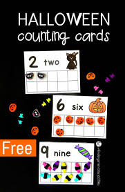 Preschool Halloween Spider Books by Halloween Counting Cards Play Dough Target And Plays