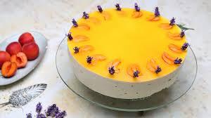 aprikosen lavendel torte