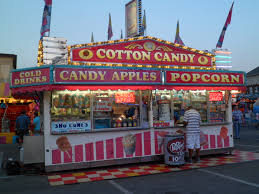 Halloween Express Milwaukee State Fair by Carnival Candy Booth Carnivals Pinterest Candy Booth