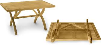 Collapsible Wooden Picnic Table Plans by Folding Table Plan By Lee Valley Lee Valley Tools