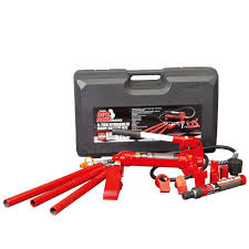 Napa Floor Jack 35 Ton by Big Red 4 Ton Porta Power With Carry Case T70401s The Home Depot