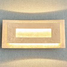 LED Wandleuchte Lolina Lampenwelt Wandlampe Finish Gold Edel