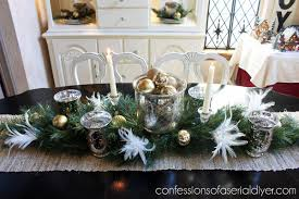 Holiday Dining Table Centerpiece