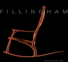 Sam Maloof Rocking Chair Video by Sam Maloof Style Rocking Chair Plans Workable26uvo