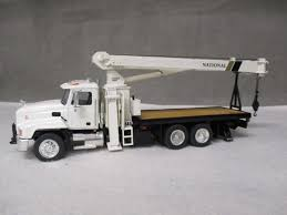 ASAM HARTSMITH RBT195 Mack CH National Boom Truck White 1/48 Alan ...