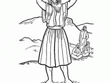 John The Baptist Coloring Page Bright And Modern 16 Pages Prophet Bible Printables