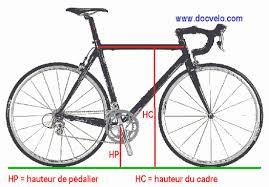 docvelo geometrie des cadres de bicyclettes