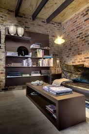 Modern Architecture Home Office Design With Rustic Style And Glubdubs