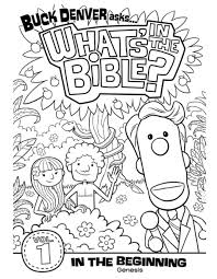 DVD 1 Genesis Cover Coloring Page