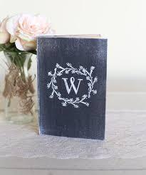 Personalized Bridal Shower Rustic Guest Book Shabby Chic Wedding Decor Custom By Morgann Hill Designs