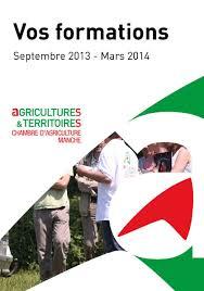 chambre d agriculture manche calaméo catalogue 2013 des formations chambre d agriculture manche