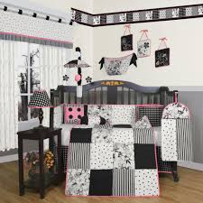 Woodland Crib Bedding Sets by Sweet Jojo Designs Zig Zag Black And Gray 11 Piece Baby Crib