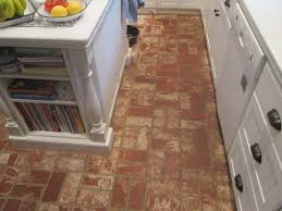 brick floor in kitchen brick flooring pavers for kitchen floors
