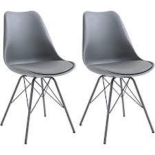 idimex esszimmerstuhl valley modern und zeitlos küchenstuhl essstuhl polsterstuhl stühle esszimmer esstisch kunstleder grau