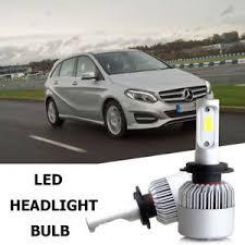h7 cree led headlight bulbs kit for mercedes b200 c230 c240
