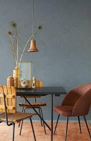tapete leather blau