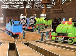 Thomas And Friends Tidmouth Sheds Trackmaster by Thomas The Tank Engine Stock Photos Thomas The Tank Engine Stock