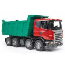 Bruder Toys 03550 Pro Series Scania R Series Tipper Truck Toy Model ...