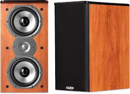Polk Audio TSi200 Cherry Bookshelf speakers at Crutchfield