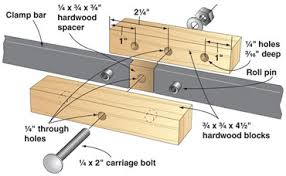 DIY Plans Wood Bar Clamps PDF Download Weight Lifting Bench