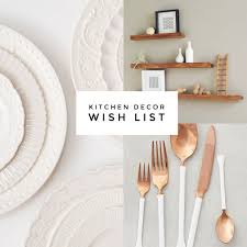 Putting Together My Wish List For New Apartment