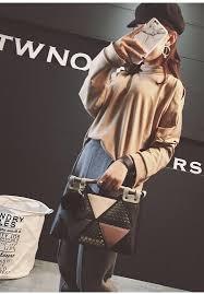 women handbags brand office lady fur ball tote bags top handle bag