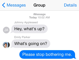 How to Mute or Leave Group Message on iPhone iOs 8 1 3