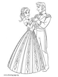 Anna Shares A Dance With Prince Hans Enjoy This Awesome Printable Disney Frozen Coloring Sheet And Have Fun