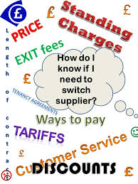 Energy Tariffs No Standing Charge by How Do I Know If I Need To Switch Supplier What Information Do I