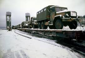 100 5 Ton Army Truck A US M939 Ton Cargo Truck In Front And Other Military