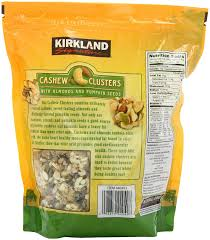 Bigs Pumpkin Seeds Nutrition by Amazon Com Signature U0027s Cashew Cluster With Almonds And Pumpkin