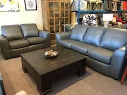 Delta Italian Standard Leather Sofa Loveseat NEW