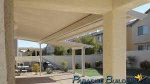 Aluminum Patio Covers Las Vegas by Patio Covers By Paradise Builders 702 242 0271 Las Vegas Patio