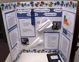 Airplane Science Fair Projects