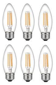 bioluz led 60 watt candelabra bulbs medium base candelabra bulbs