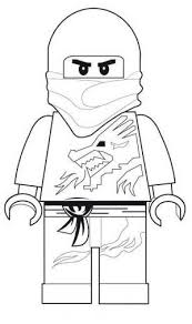 Lego Ninjago Printable Coloring Pages