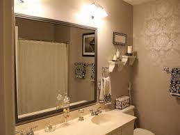 stunning small bathroom ideas with cool bathroom mirrors ideas
