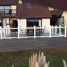 100 Clearview Decking Railing In Newquay UK Fiberon Composite UK