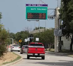 Halloween Express Houston Katy Tx by Peak I 10 Toll Price Increasing To 10 Houston Chronicle